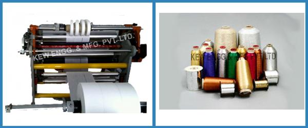 Lidding Film Slitter Rewinder Machine