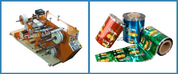 Mini Cantilever Slitter Rewinder Machine