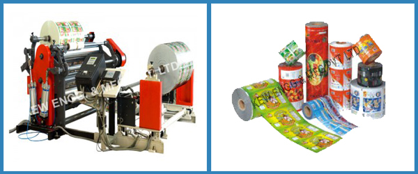 Plastic Slitting Rewinding Machine