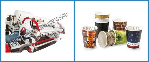 Tea Coffee Cup Paper Slitter Rewinder Machine