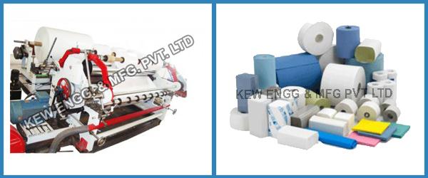 Heavy Duty Paper Slitting Rewinding Machine