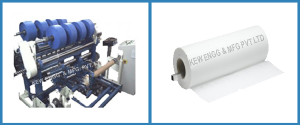 Filter Paper Slitter Rewinder Machine