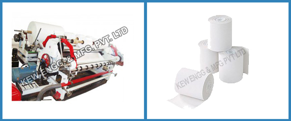 Bond Paper Slitting Rewinding Machine