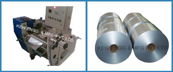 Aluminum House Foil Slitter Rewinder Machine
