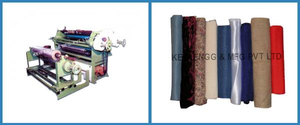 Textile Cloth and Fabric Slitter Rewinder Machine