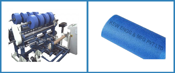 Nylon Dipping Fabric Slitter Rewinder Machine