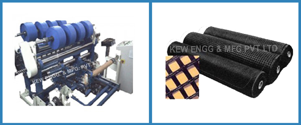 Geogrid Fabric Slitting Rewinding Machine