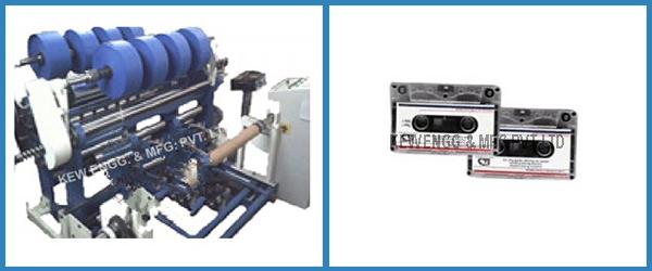 Audio Tape grade Slitter Rewinder Machine