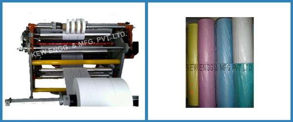 Textile Bags Film Slitter Rewinder Machine