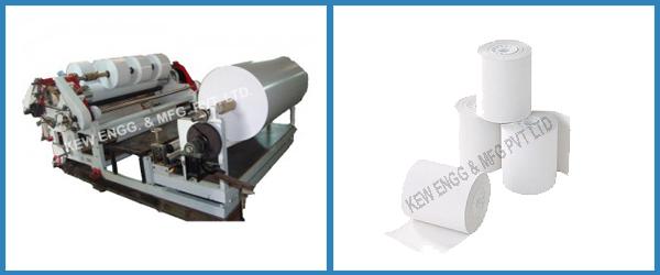 Thermal Sensitive Paper Slitter Rewinder Machine