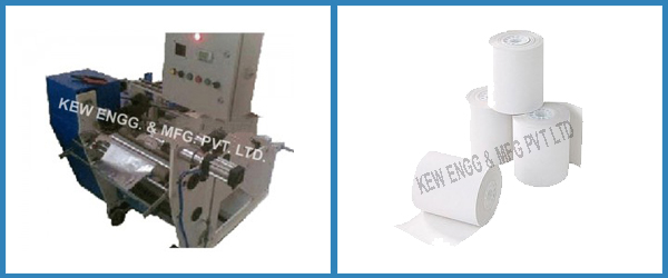 Thermal Paper Slitting Rewinding Machine