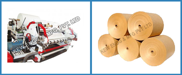 Kraft Paper Slitting Rewinding Machine