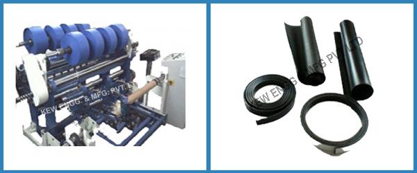 Rubber Slitter Rewinder Machine