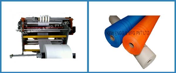Fiberglass Fabric Slitting Rewinding Machine