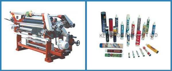 Lamitube Slitter Rewinder Machine